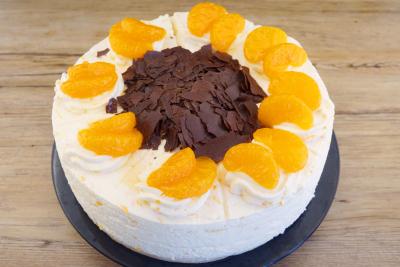Mandarinensahne Torte