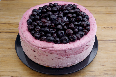 Blaubeersahne Torte